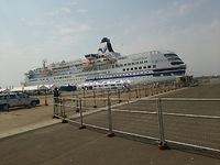 酒田港に豪華客船。。。