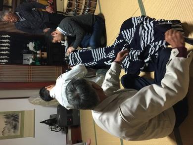 黒川 獅子舞(幕付け)