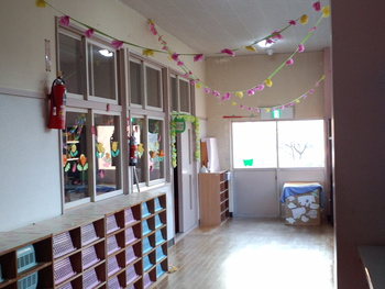 幼稚園とお別れの日。