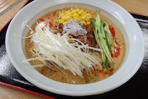 白ゴマ坦々麺