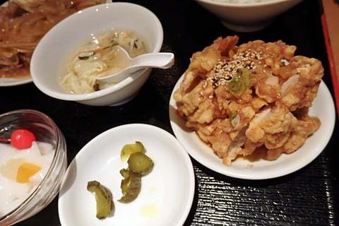 台湾風キムチ飯定食
