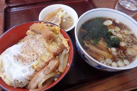 カツ丼セットラーメン