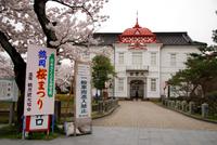 夜桜花見鶴岡桜祭り