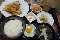豚バラ炒め定食