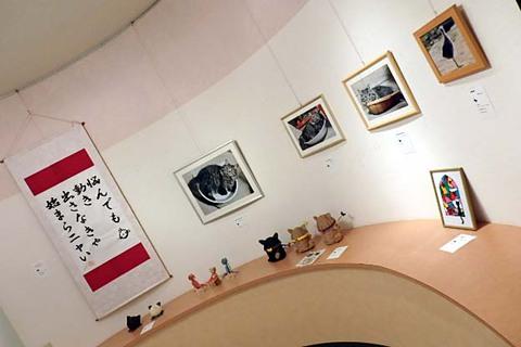 酒田どんニャン祭猫作品展