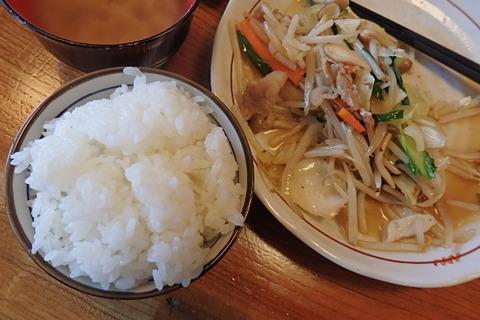 猫野菜炒め定食