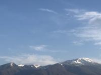 美しい11月11日の鳥海山
