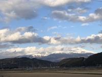 1月17日の鳥海山