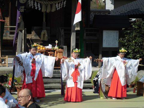 温泉神社秋祭り