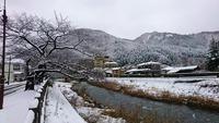 今季初の大雪