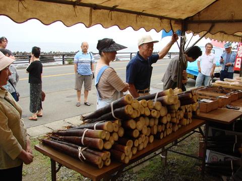 カラ竹祭り始まりました!