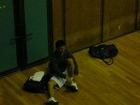 今週のバスケ練習日