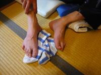 誰の足?☆