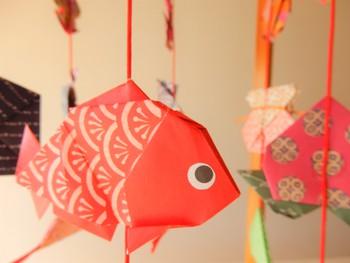 折紙傘福のコツ
