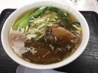 県庁の一押しラーメン食べました٩(^‿^)۶