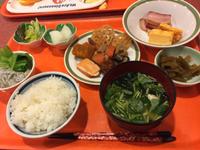 湯の杜ホテル志戸平の朝食( ◠‿◠ )