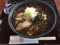 お昼はそ〜〜ば〜〜( ´∀`)