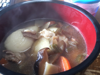 お昼雑煮╰(*´︶`*)╯♡
