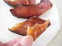 鮭トバ作り、自家製鮭とば完成、簡易鮭トバ、山形鮭とば