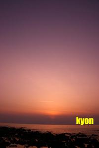 夕陽が・・・曇りでΣ(゚д゚lll)ガーン