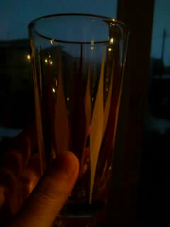 キッチュなグラス