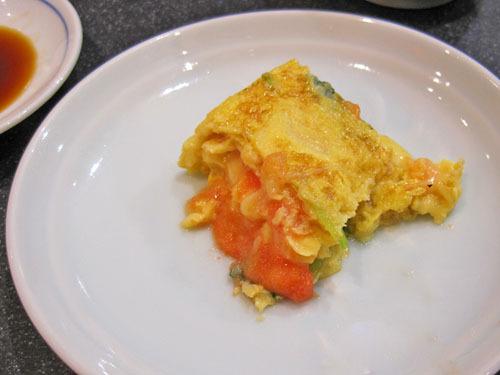 すしざんまいの明太チーズのだし巻き卵