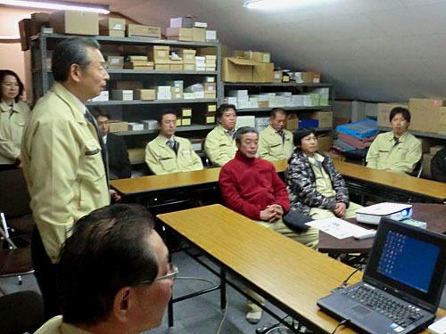 エコー石材の安全衛生協議会