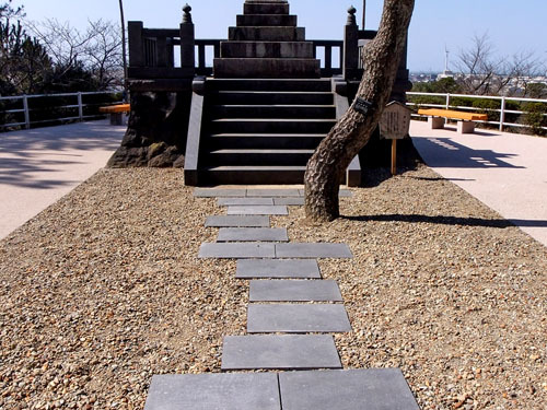 日和山公園の墓石
