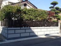 石塀フェンス工事