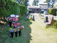 無人供養花コーナー