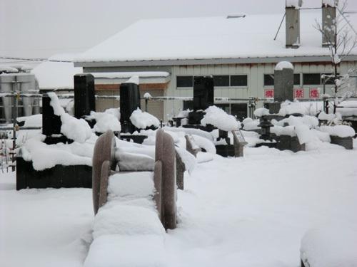 酒田の大雪