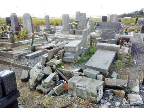 東日本大震災から3年半が過ぎた石巻の様子