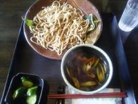 温かい鴨ダレつけ麺