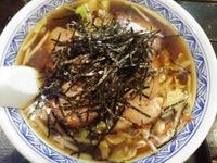 焼き豚野菜コラボしょう油ラーメン