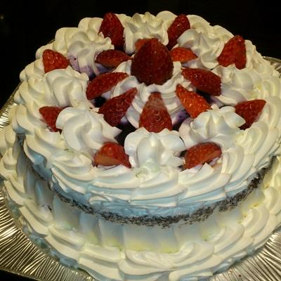 戴き物のケーキ