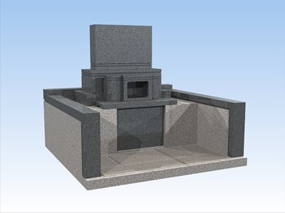 墓石のCGグレー