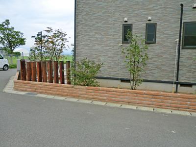 三川町M様邸のエクステリア工事