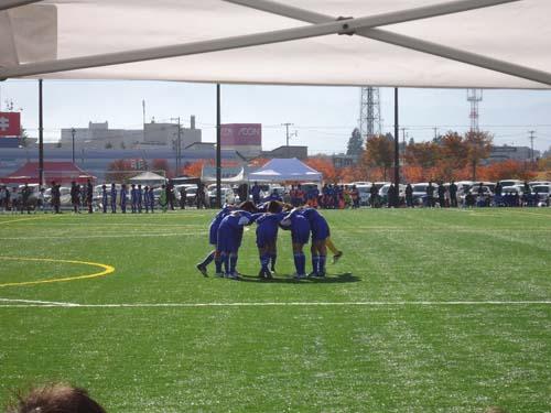 米沢総合運動公園YリーグU12チャンピオンカップサッカー大会