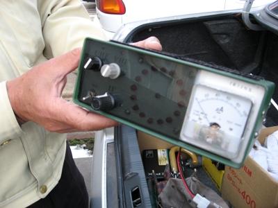 手作り電波探知機