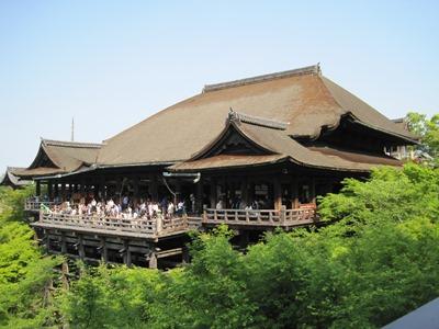 ゴールデンウイーク旅行清水寺