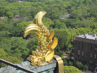 大阪城のしゃちほこ