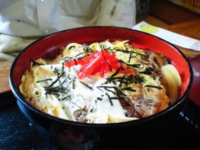 お食事処 七福亭のカツ丼