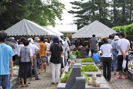 庄内ペット霊園 合同供養祭