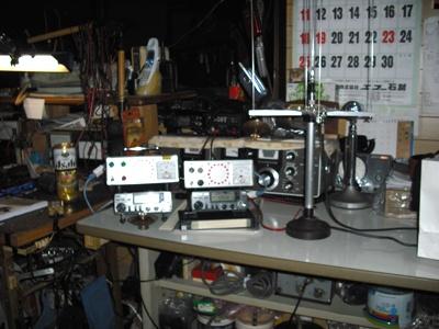 手作りの電波探知機