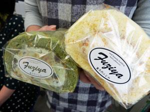 東京庄内会と抹茶ロール