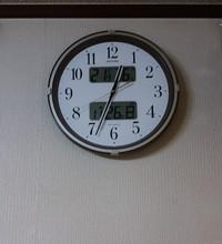 見づらい時計は!
