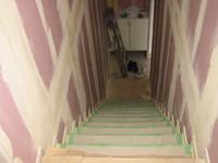 階段ができあがる