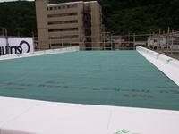 屋根がつく