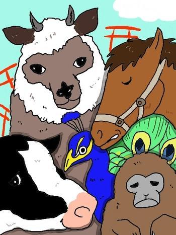 ◆第272話◆かみのやま動物物語り