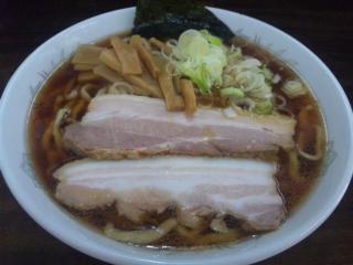 平日限定の極太麺